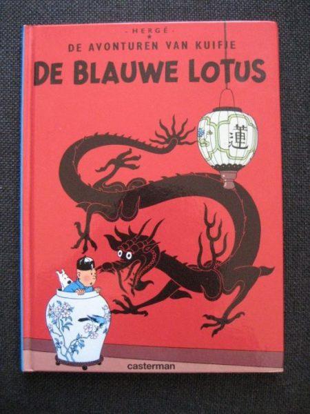 Herge: De blauwe Lotus
