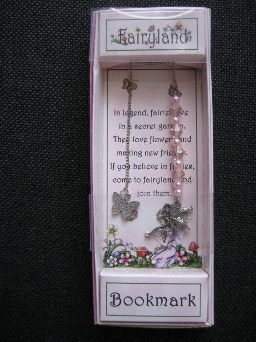 Boekenlegger: Fairyland Roze